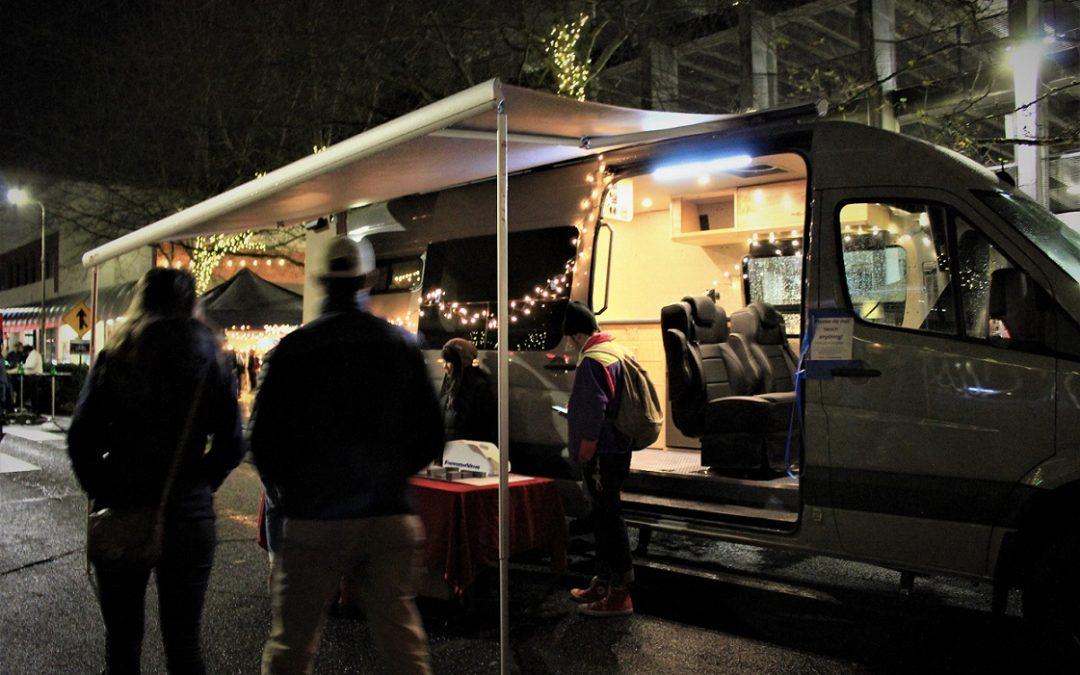 Bellingham Commercial Street Night Market Van Rally