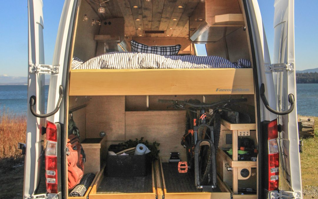 Let's Talk About Designing Storage Space in Your Camper Van