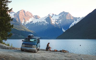 How to Find Free Camping Spots While Travelling in a Van