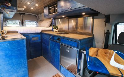 16 Design Ideas for Van Kitchen Layouts