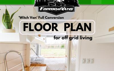 Freedom Vans Launch Floor Plans for D.I.Y. Van Conversions
