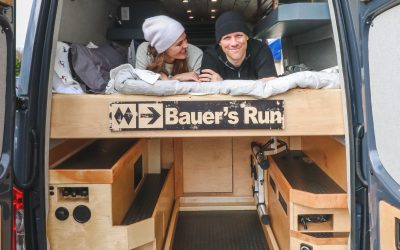 Best Van Design Features for Mountain Bikers, Skiers, Surfers, & Climbers